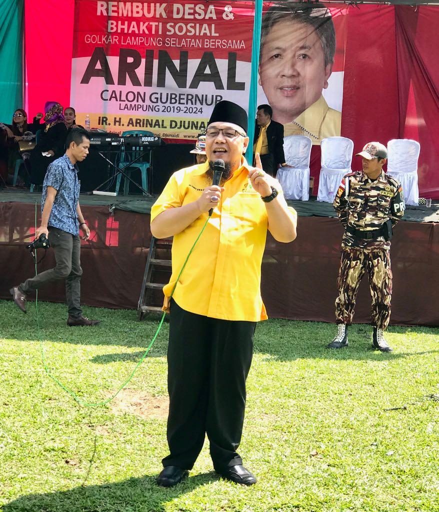 LAMPUNG POST | Golkar Lampung Dukung Pemecatan Yorrys