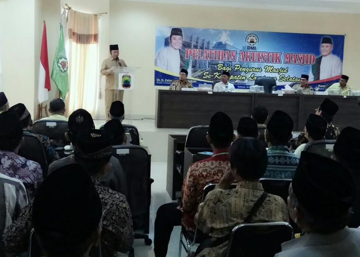 LAMPUNG POST | DMI Lamsel Gelar Pelatihan Akustik Masjid