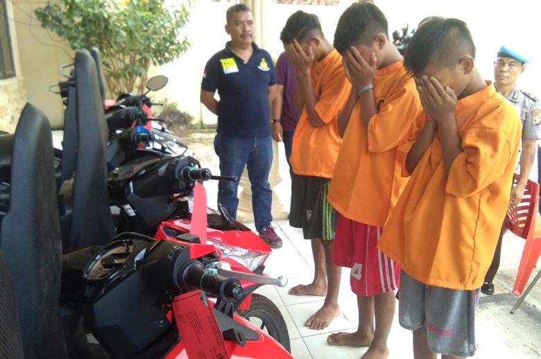 VIDEO: Pengakuan Remaja 15 Tahun Nekat Bobol Dealer Motor di Tanjungbintang