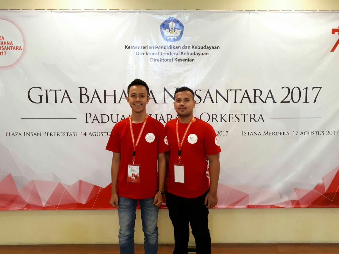 LAMPUNG POST | Wakili Lampung, Mahasiswa Teknokra Ikut Gita Bahana Nusantara