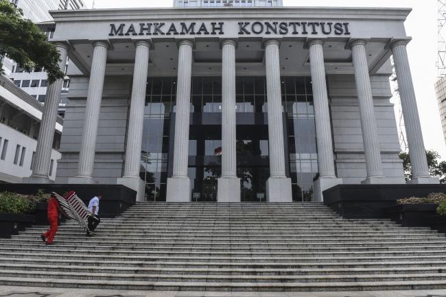 LAMPUNG POST   Pagi Ini, MK Gelar Rapat Pemilihan Ketua Baru