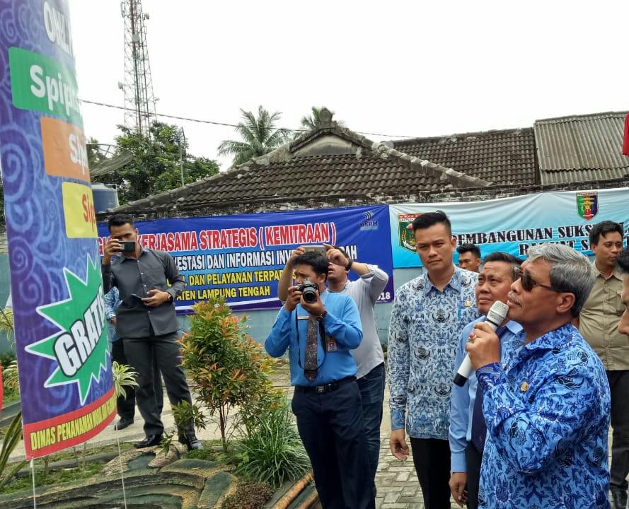 Urus Perizinan di Lampung Tengah Sekarang Bisa Via Daring