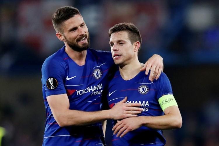 Chelsea, Arsenal, Valencia, Eintracht Lolos ke Semifinal Liga Eropa