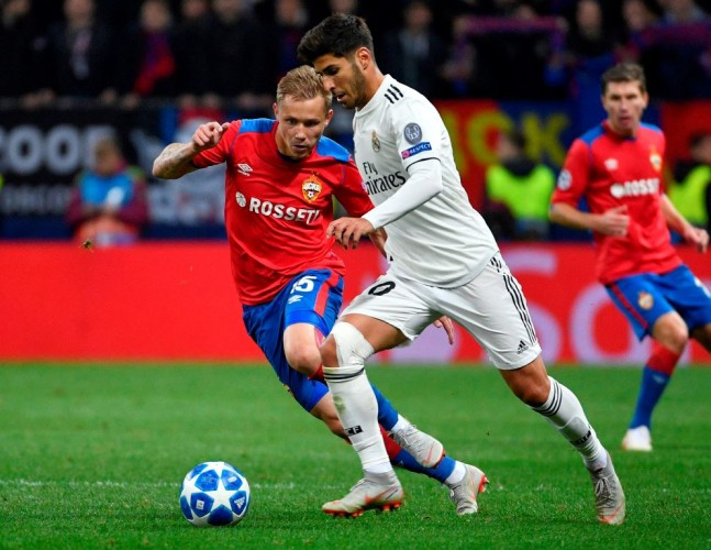 CSKA Moscow Kalahkan Real Madrid