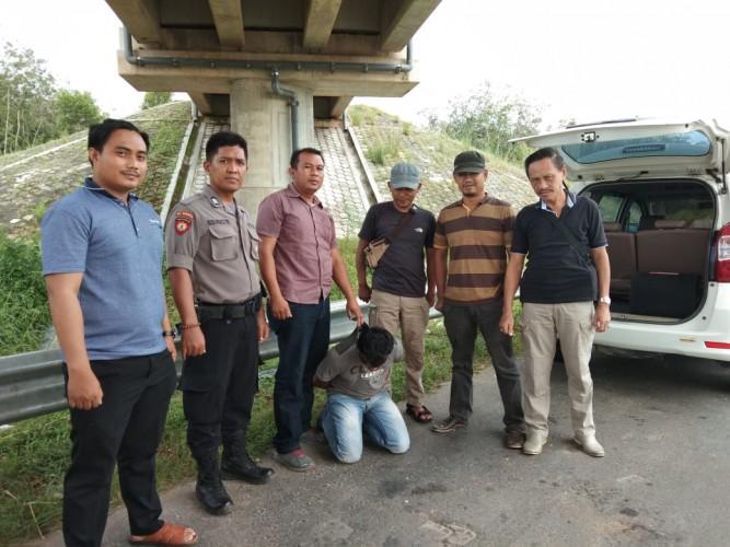 Curi Aki Mobil, Warga Dusun Guruhnangi Diringkus Polisi