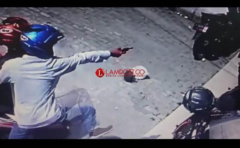 Curi Motor dengan Todongkan Senpi Marak di Bandar Lampung