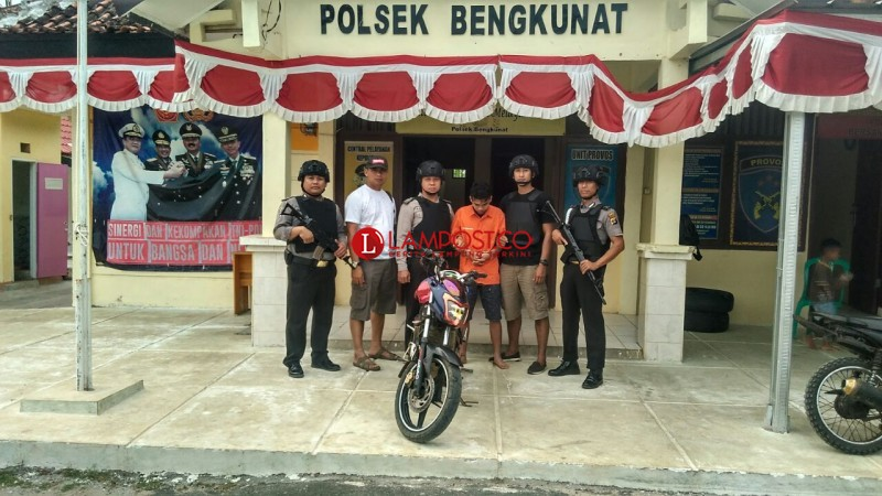 Curi Motor, Warga Ngambur Diamankan Polisi