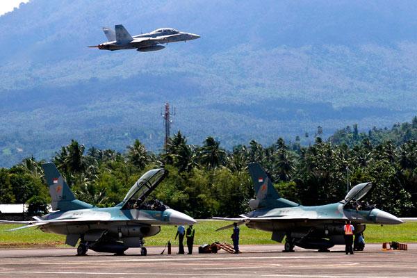 LAMPUNG POST | AS Ajak Indonesia Kerja Sama Militer