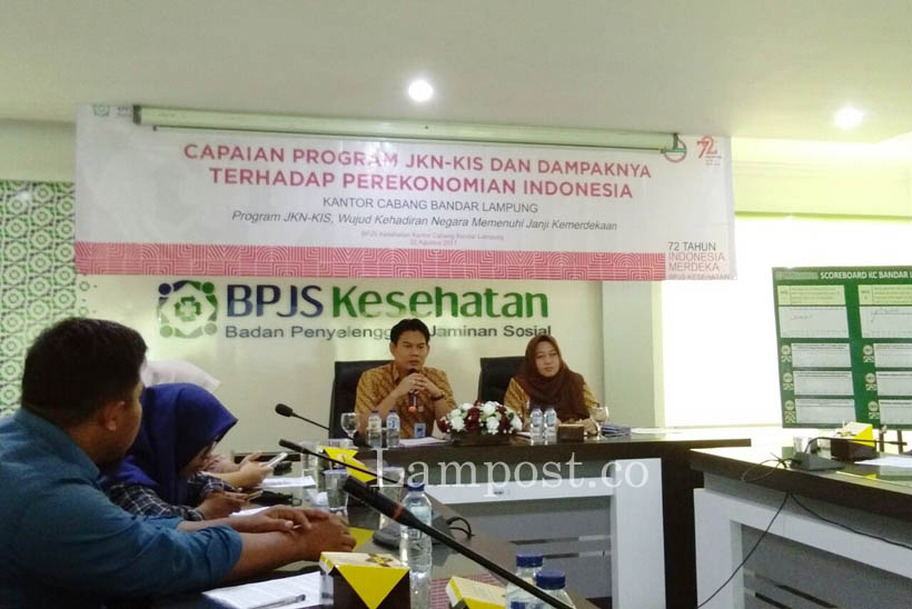 LAMPUNG POST | 70 Persen Warga Indonesia Ikut Program JKN-KIS