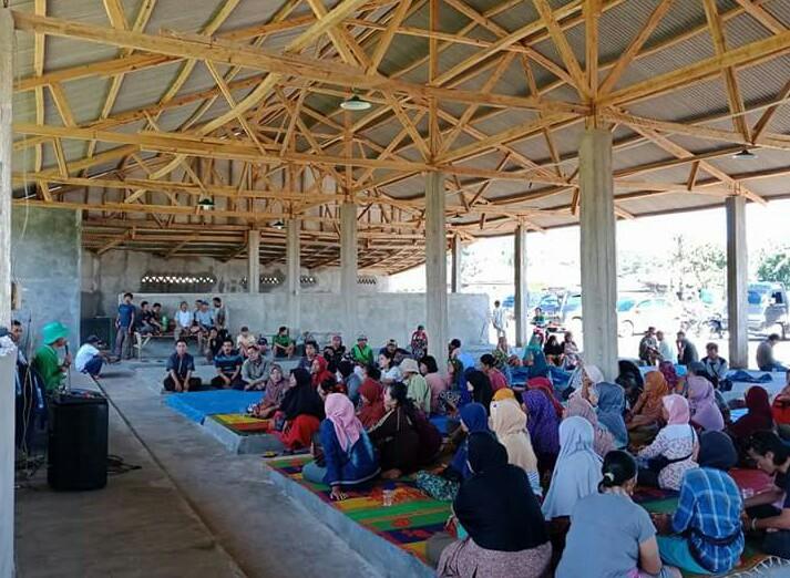 Pasar Lappai Khatu Desa Gayam Diresmikan, Pedagang Jangan Takut Lagi Diganggu