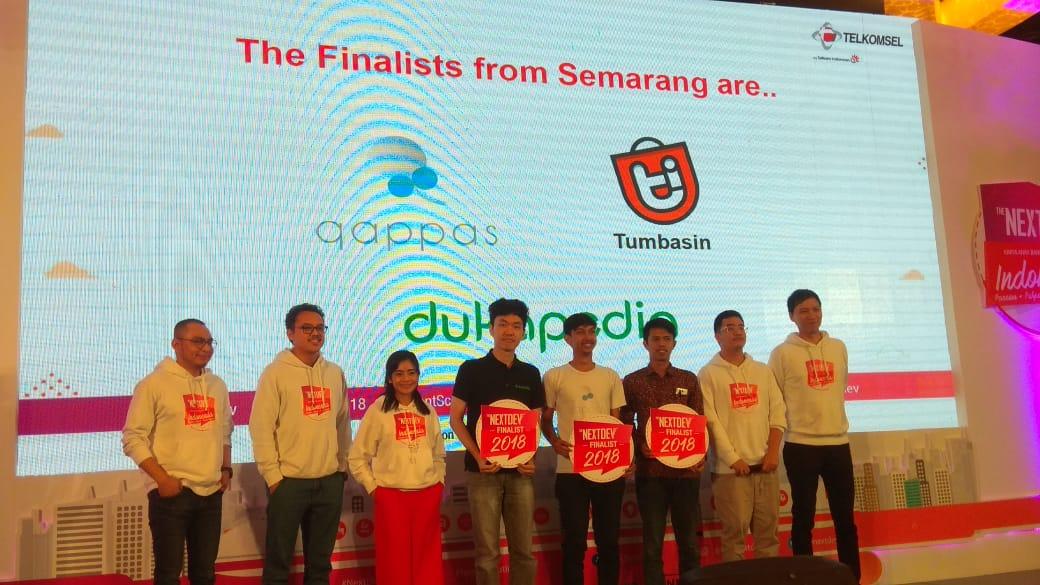 The NextDev Talent Scouting Semarang Raih Tiga Startup Juara