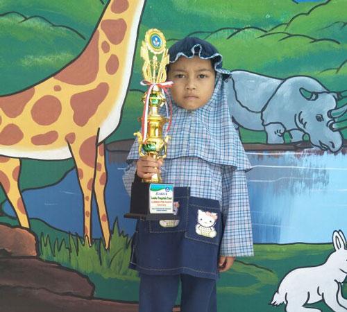 Asrya Jessica Ramdhani Ingin Menjadi Guru