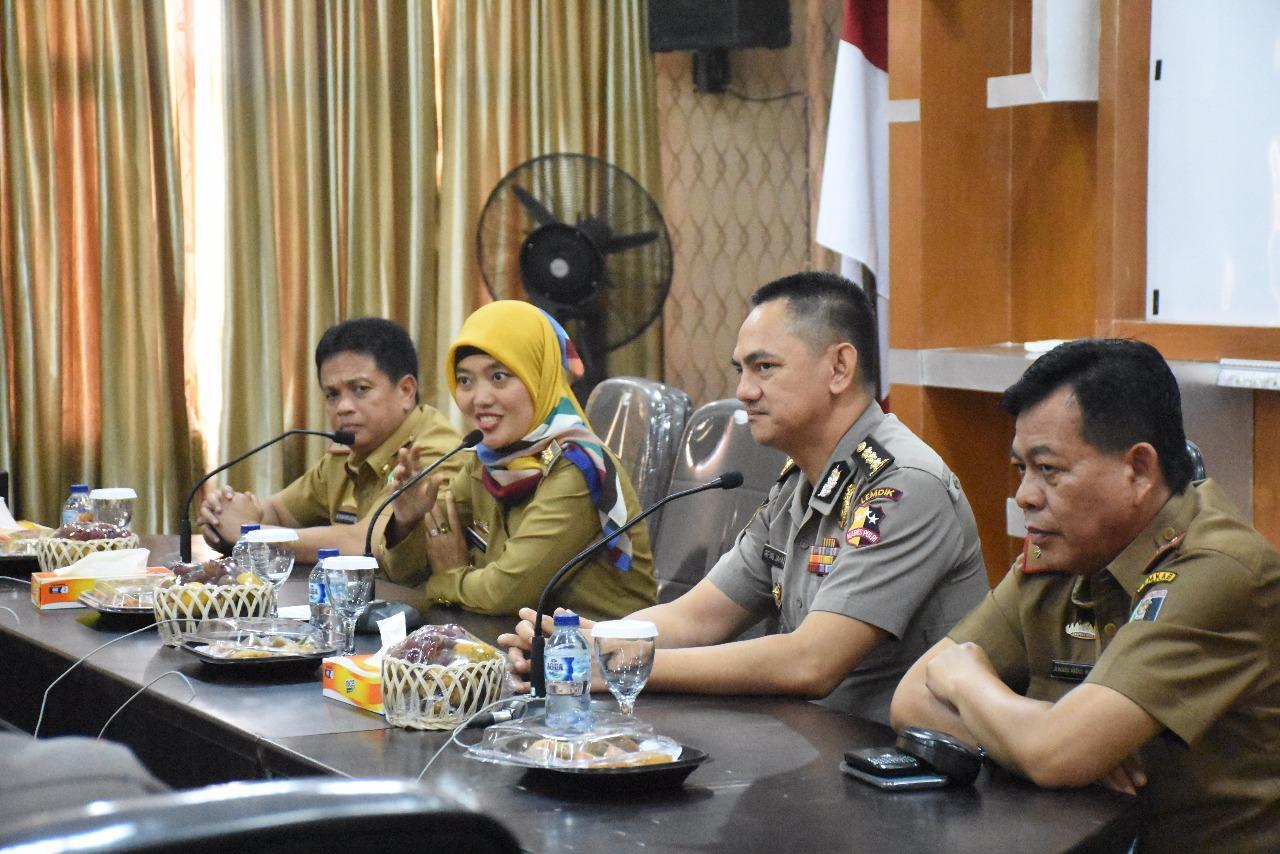 LAMPUNG POST | Nunik Sambut Kunjungan Mahasiswa STIK Angkatan Ke-72