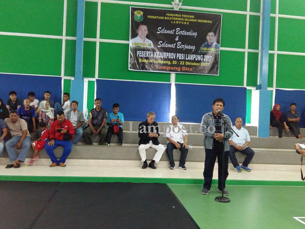 11 Kabupaten Ramaikan Kejuaraan Provinsi Bulu Tangkis 2017