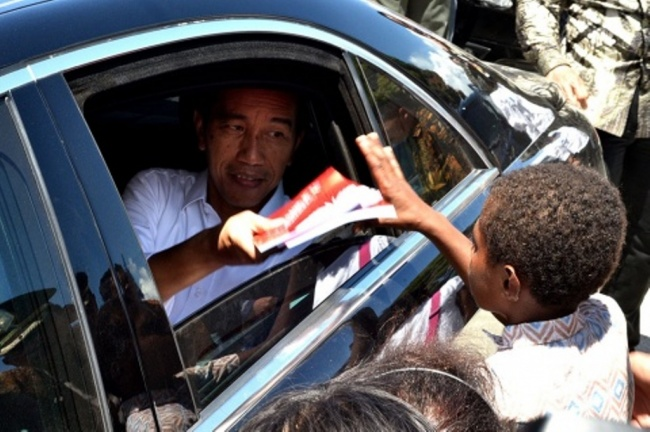 LAMPUNG POST | Jokowi tak Ingin Ada Anak Putus Sekolah