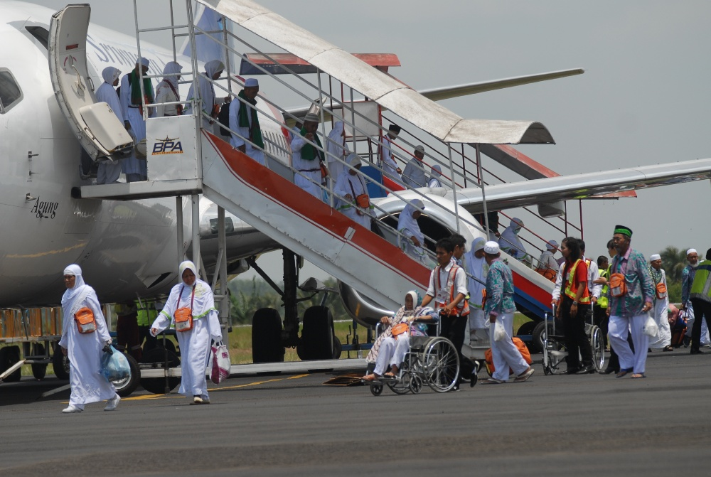 LAMPUNG POST   Embarkasi Haji Antara Lampung Siap Berangkatkan 7.704 Jamaah