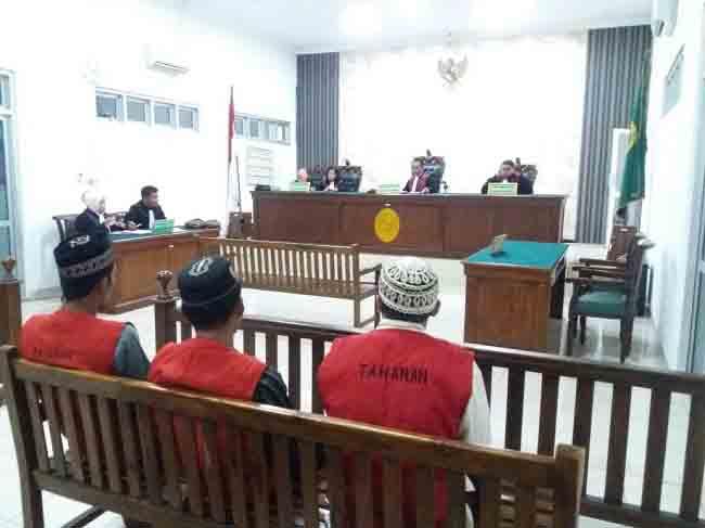 Sidang Terdakwa Pembalak Liar Ditunda Pekan Depan