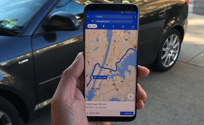LAMPUNG POST | Kini, Rute Khusus Sepeda Motor Hadir di Google Maps