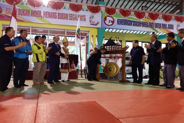 176 Atlet Bersaing  di Cabang Judo