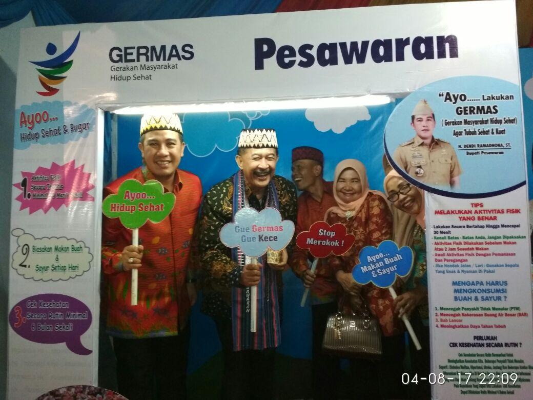 LAMPUNG POST | Heri Sulistyo Apresiasi Pembangunan Kabupaten Pesawaran