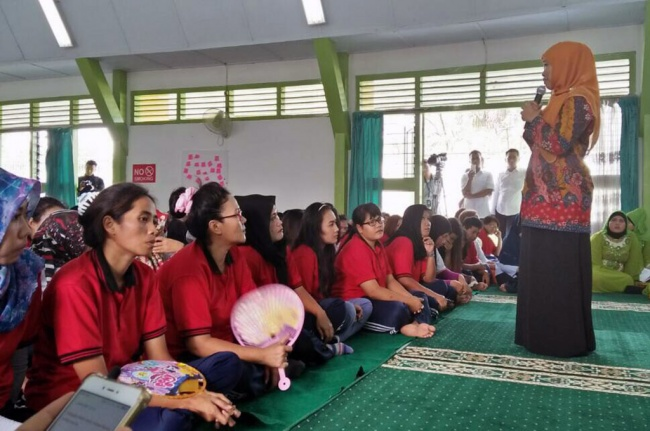 LAMPUNG POST | Lapas Harus Ramah Anak dan Perempuan