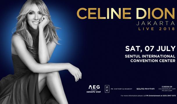 LAMPUNG POST | Tiket Termahal Konser Celine Dion Seharga Rp25 Juta Ludes Terjual