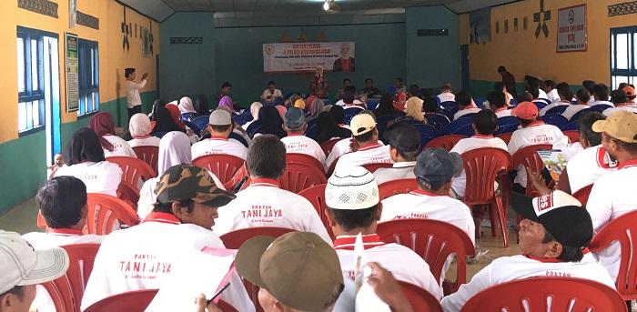 Anggota DPR RI Ajak Petani Lampung Jaga Kedaulatan