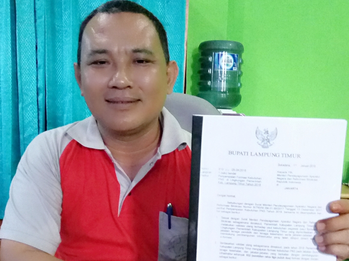 Pemkab Lamtim Masih Menunggu Jawaban Kemenpan RB Atas Usulan Kebutuhan CPNS