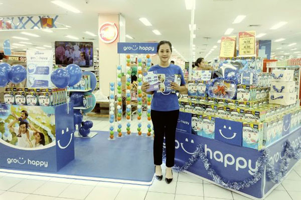 Nestle Lactogrow Usung Program Grow Happy