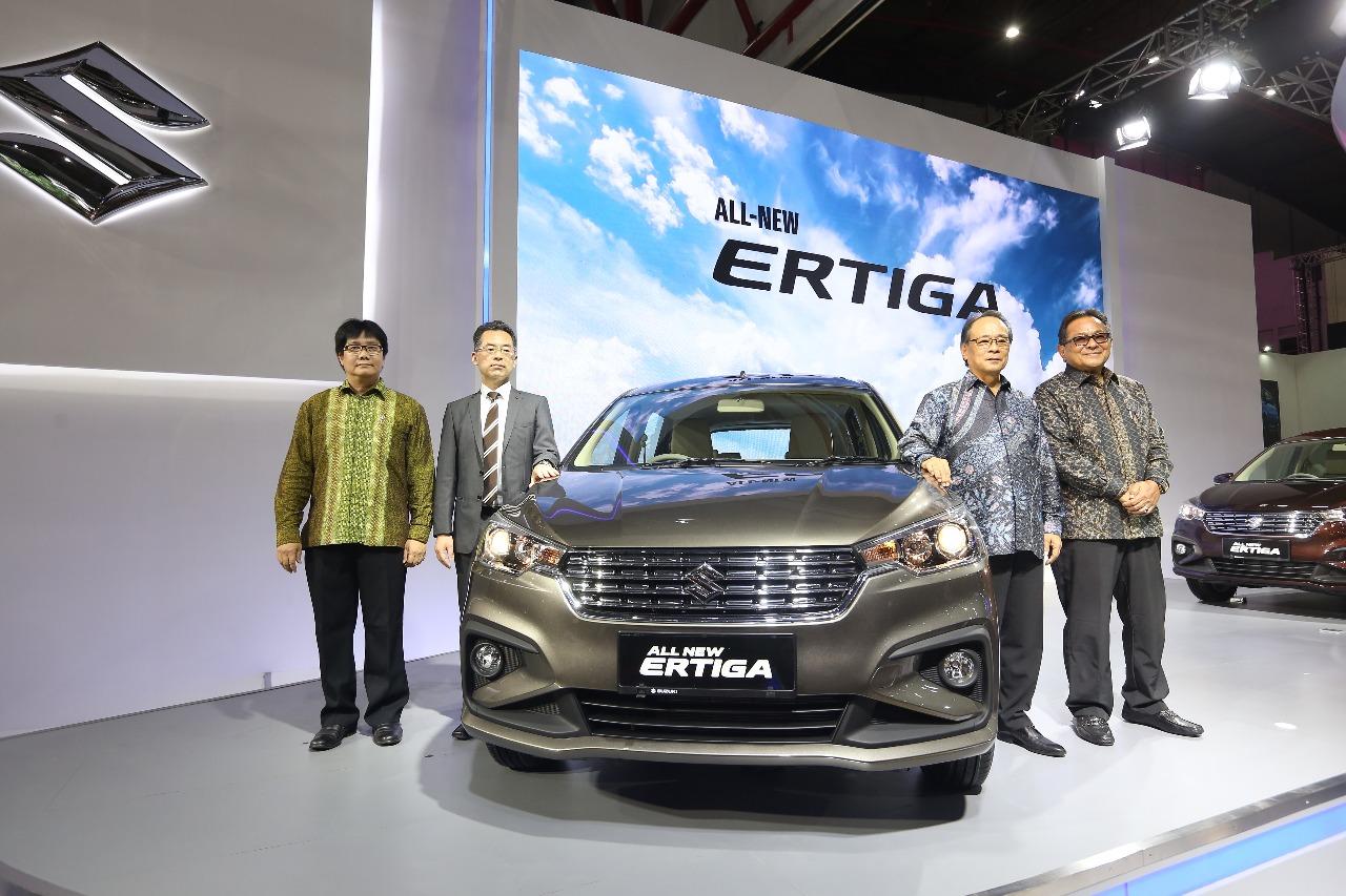 LAMPUNG POST | Suzuki Resmi Luncurkan Ertiga Baru