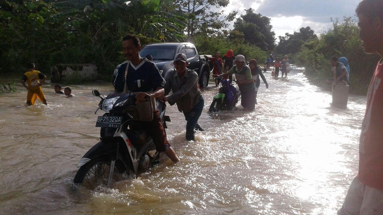 LAMPUNG POST | Kampung Bencana