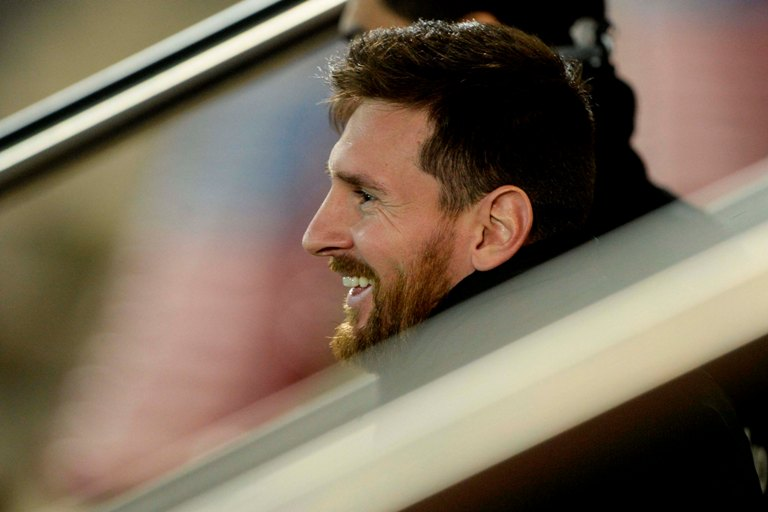 LAMPUNG POST | Messi dan Squad Barca Dapat Mobil Rp1,17 Miliar