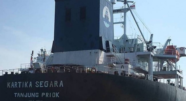 LAMPUNG POST | Kapal Tanker Indonesia Tabrak Kapal Keruk Dominika, 5 ABK Hilang