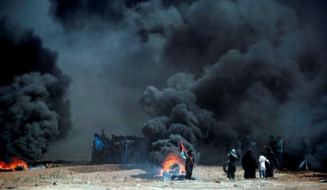 55 Warga Palestina Tewas dalam Bentrok di Gaza