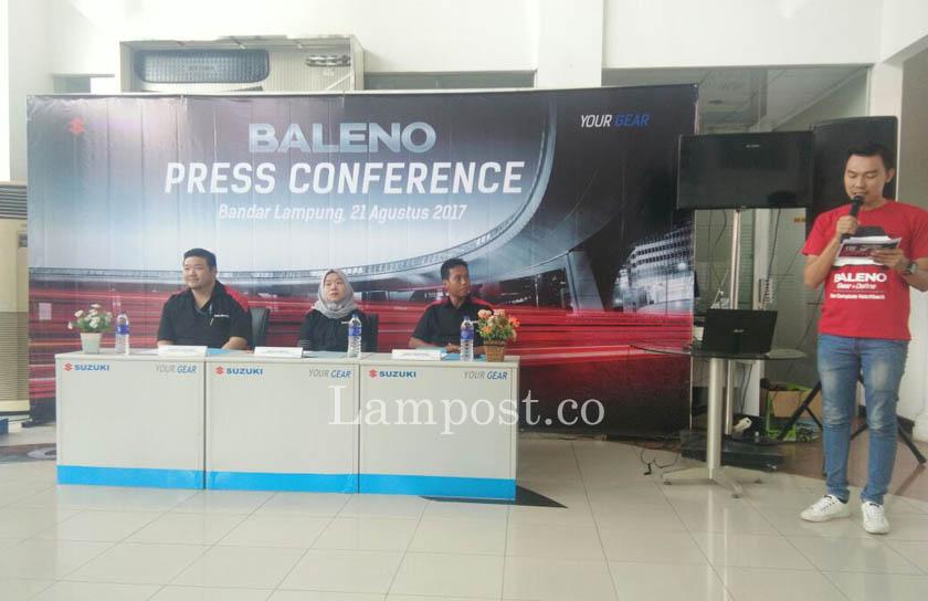 LAMPUNG POST | PT Persada Lampung Raya Launching Suzuki Baleno