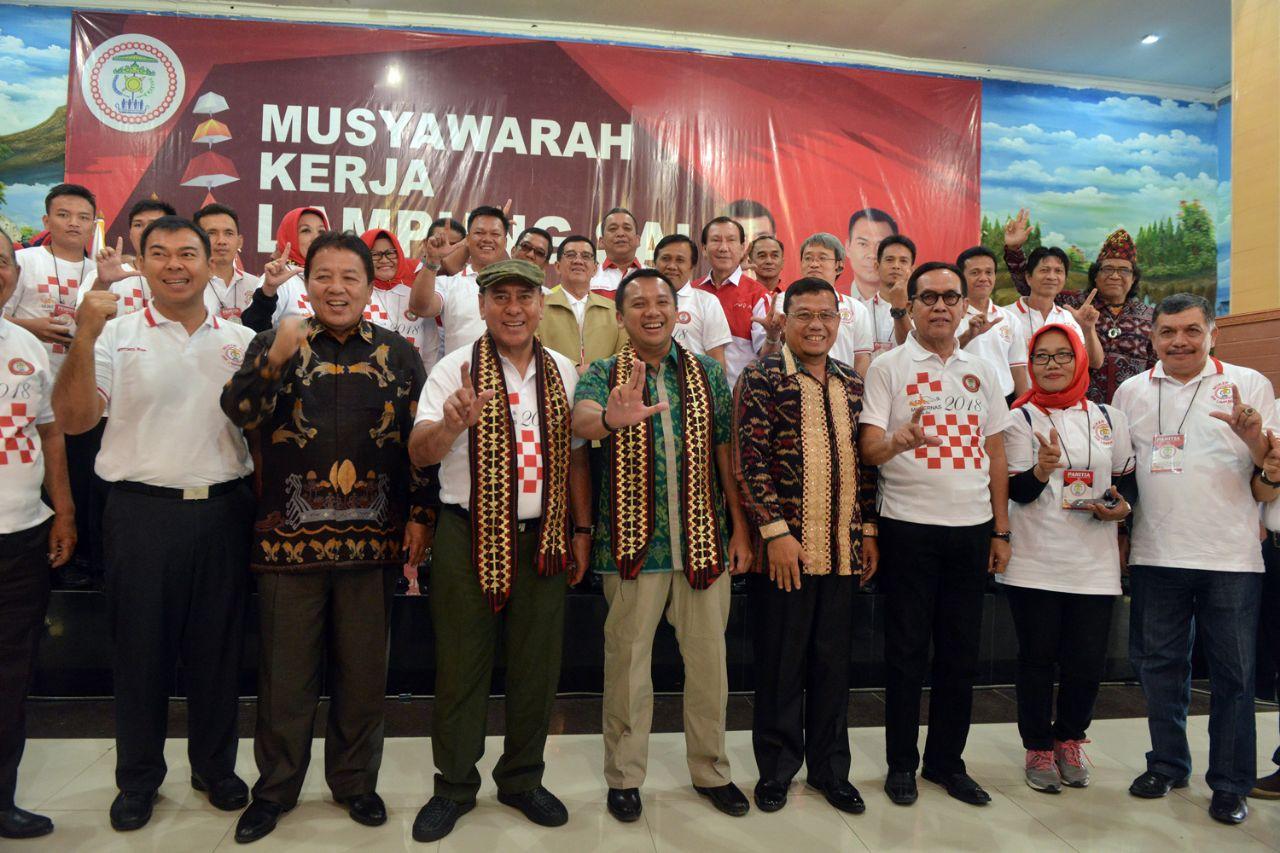 Gubernur Ridho Buka Musyawarah Kerja Lampung Sai