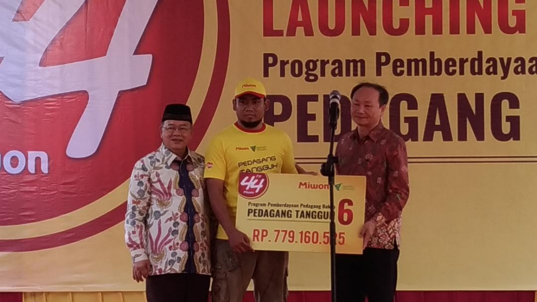 Program Pedagang Tangguh VI Diluncurkan