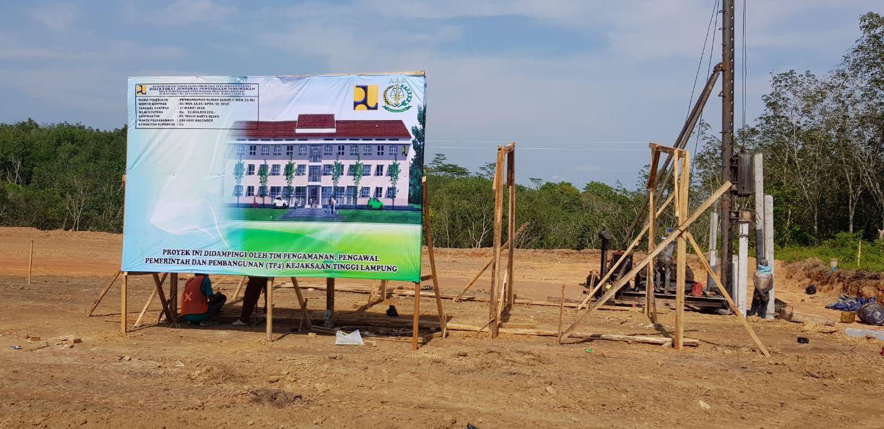 Pembangunan Rusun Senilai Rp11,8 miliar di Tubaba Dimulai