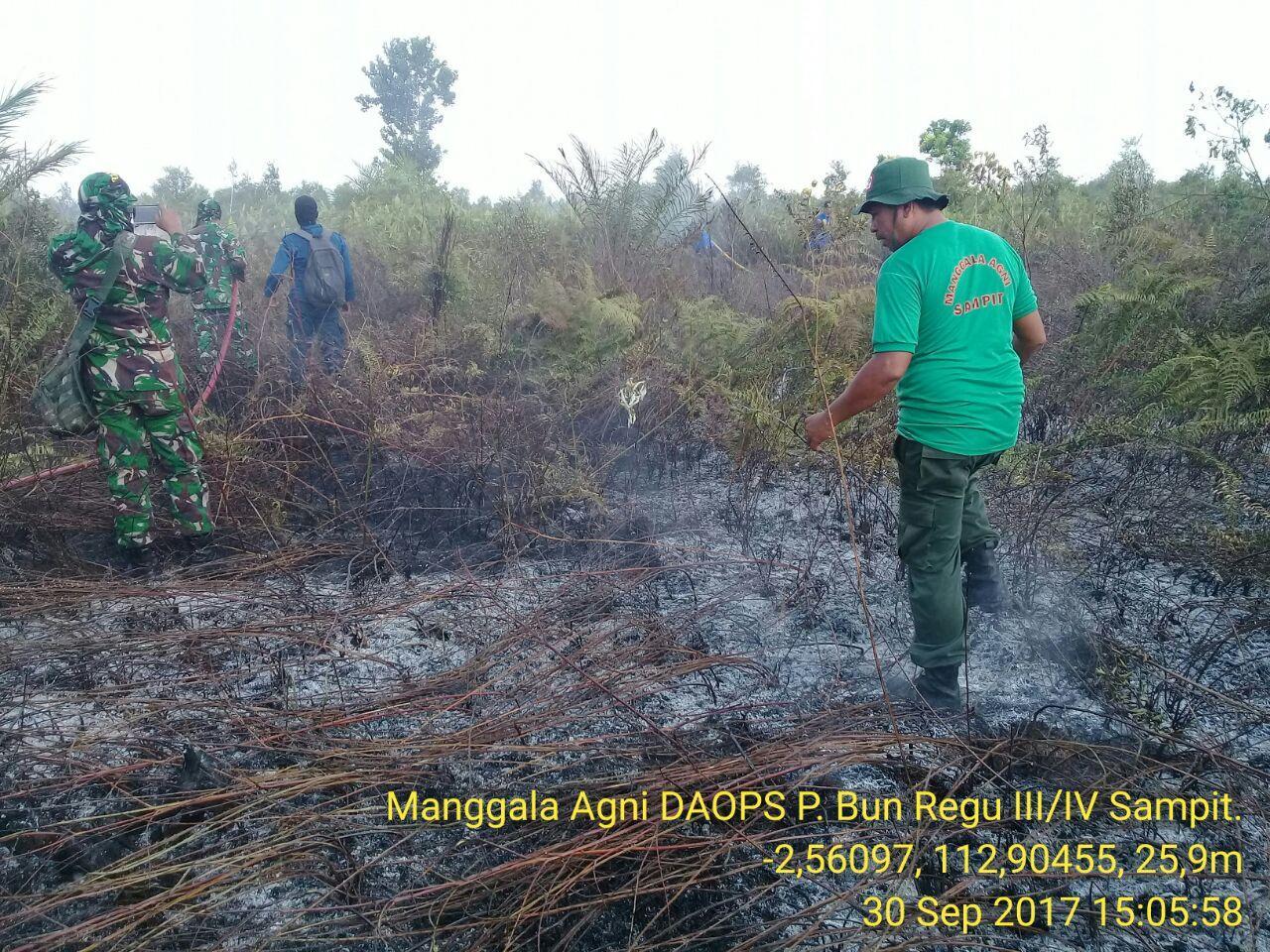 LAMPUNG POST | Meski Diperkirakan Hujan, Pecegahan Kebakaran Hutan Jalan Terus