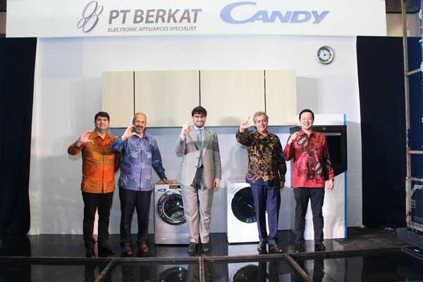 Peralatan Rumah Tangga Pintar Candy Group Diluncurkan