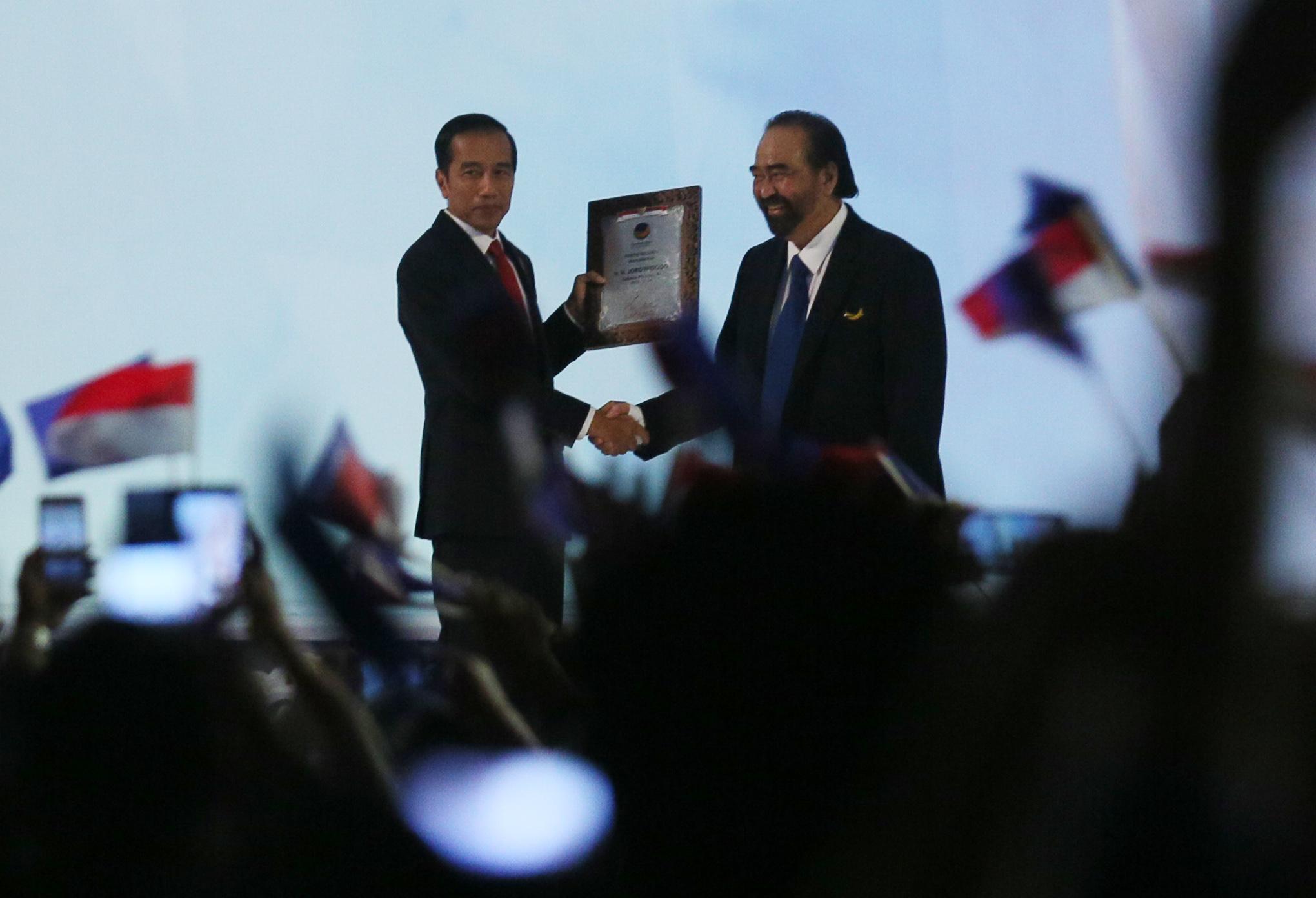 LAMPUNG POST | NasDem Konsisten Dukung Jokowi