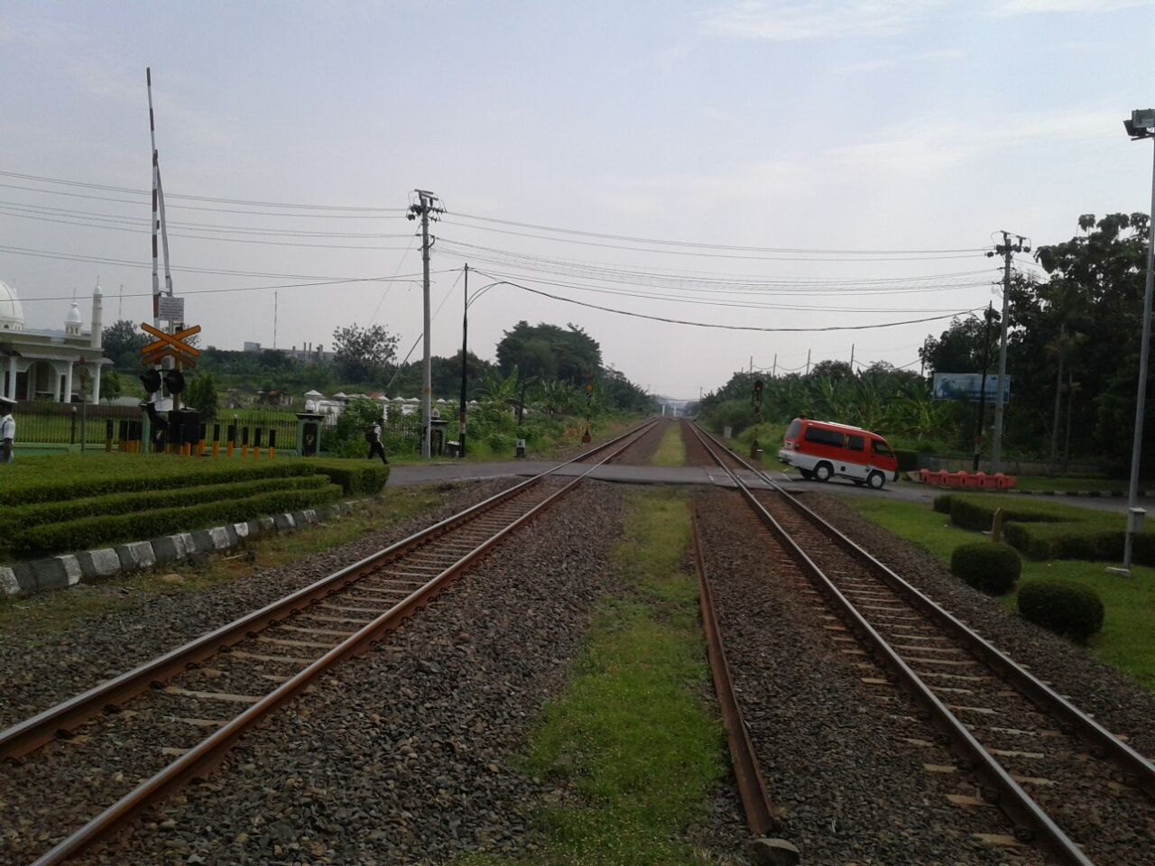 PT KAI Uji Coba Double Track Martapura-Baturaja