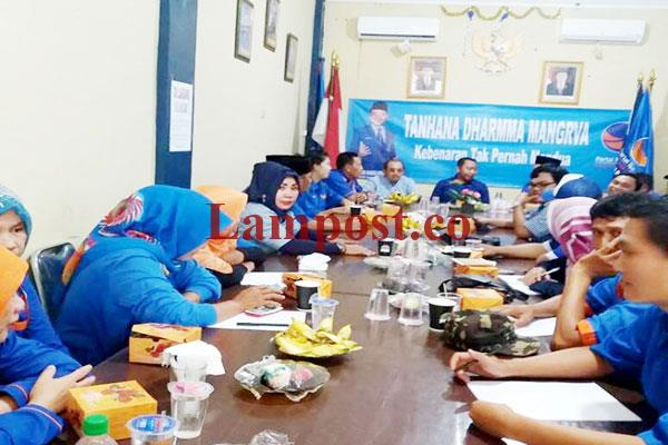 LAMPUNG POST   DPD Partai NasDem Lampung Utara Gelar Rakerda