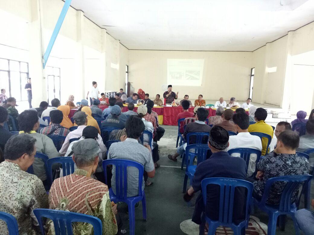 Lahan 6 Desa di Lamsel Terkena Tambahan Fasilitasi Kontruksi Tol