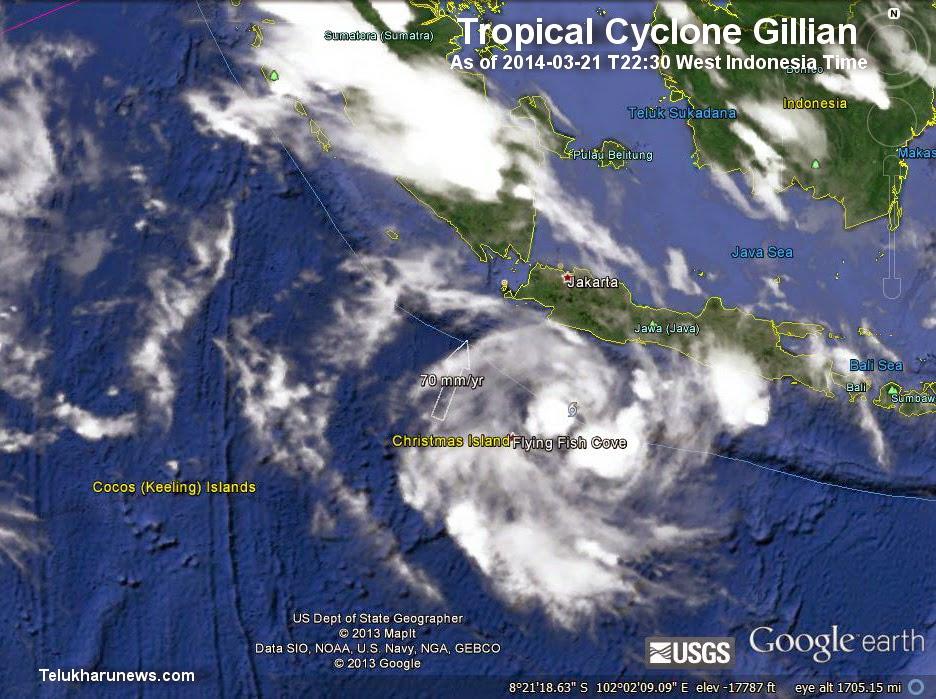 LAMPUNG POST   Fenomena Siklon Tropis