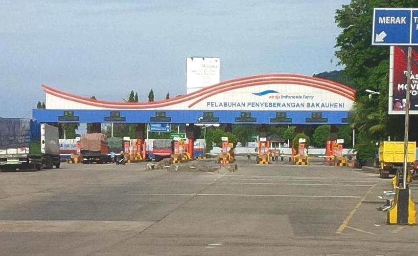 LAMPUNG POST   ASDP Siapkan 45 Loket dan 32 CCTV