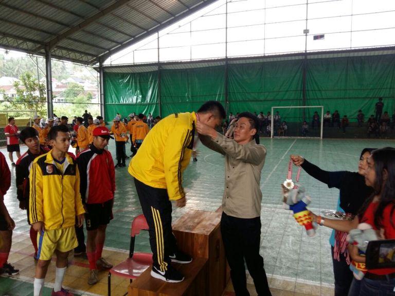 Bandar Lampung Juara Futsal di Porprov 2017