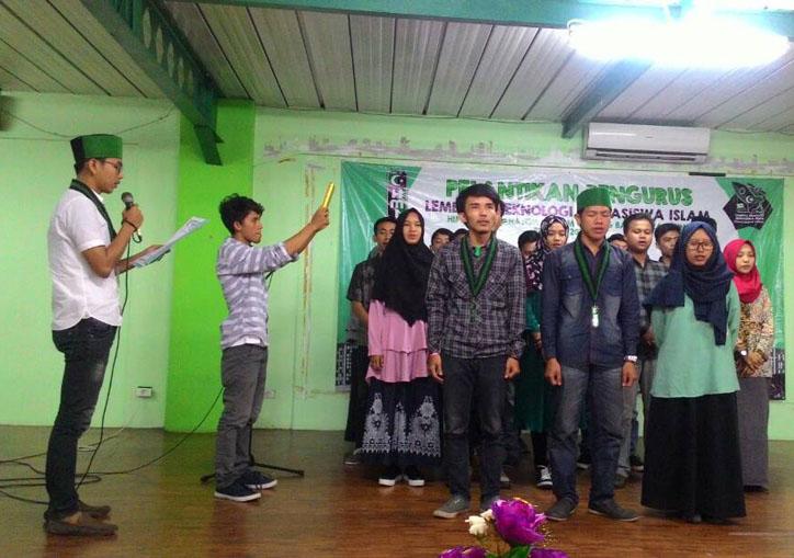 LAMPUNG POST   Pengurus LTMI HMI Bandar Lampung Resmi Dilantik