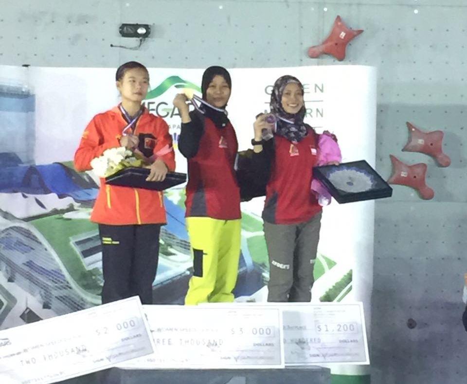 LAMPUNG POST | Panjat Tebing Indonesia Rebut Emas Pertama di Kejuaraan Asia 2017