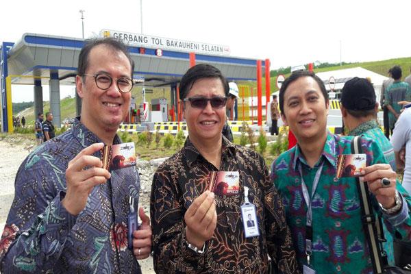 BRI Siapkan e-Money Khas Lampung untuk Pembayaran Tol